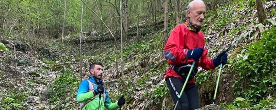 Everesting a 79 anni per Battista Marchesi