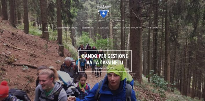 Il Cai Castione affida il rifugio Cassinelli