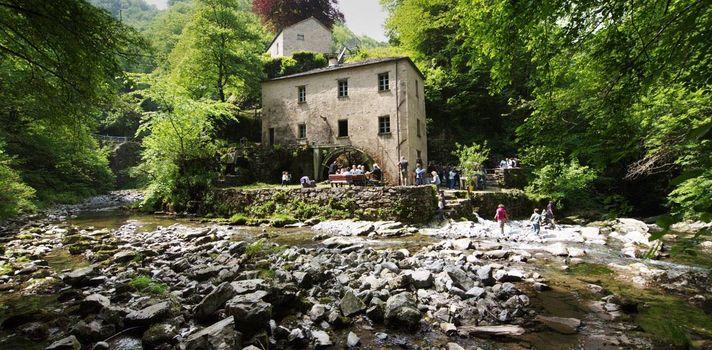 Escursione al mulino di Bruzella