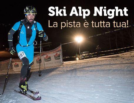 Sci alpinismo in notturna a Cima Piazzi