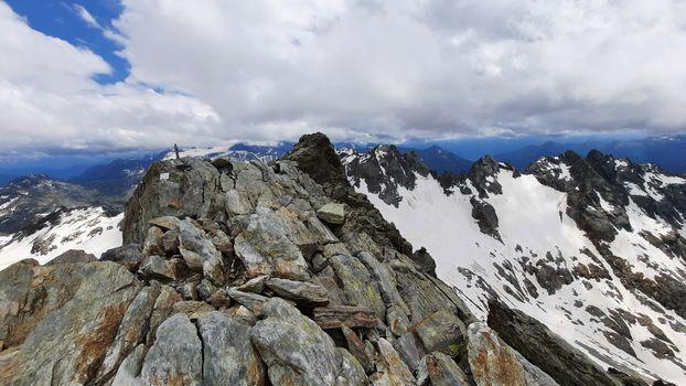 06.07.2021: Punta Marinelli (3182 m) - Via Normale
