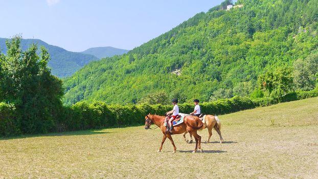Vacanze a cavallo a Imbersago