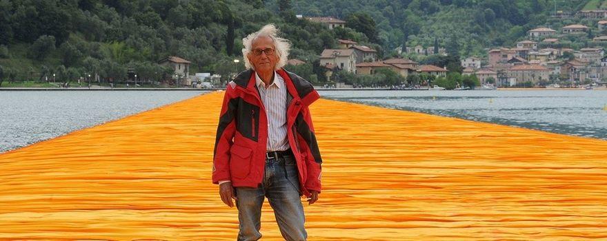 Addio a Christo, l'artista che fece scoprire il Sebino a tutto il mondo