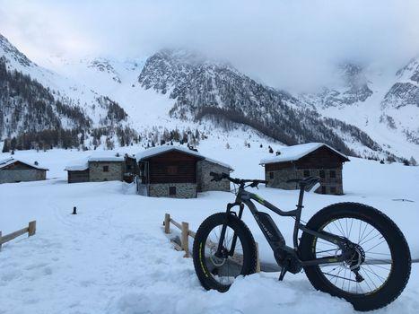 Con le fat bike in Val di Rezzalo