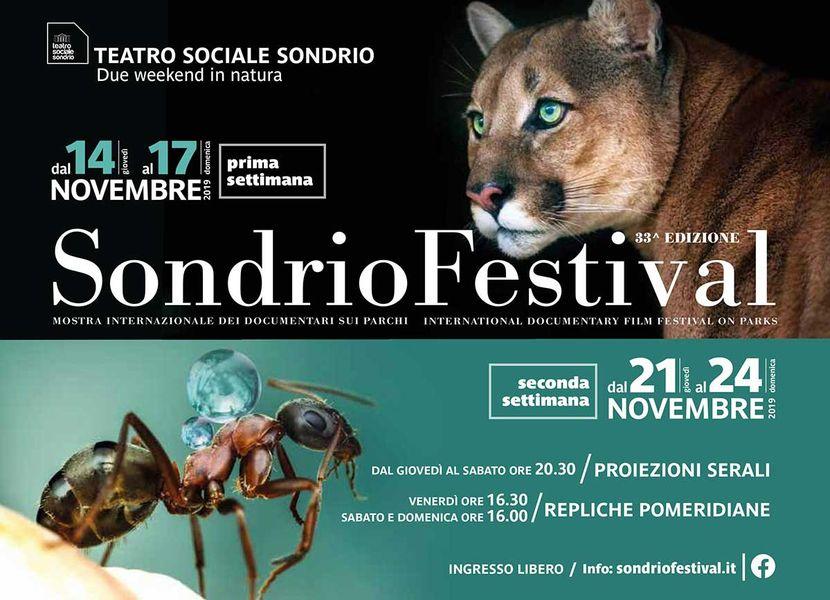 Sondrio Festival al via con grandi ospiti e 16 documentari in concorso