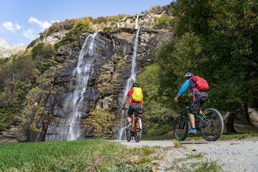 Da Chiavenna a Colico in bici