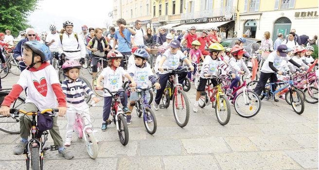 Tutti a pedalare con Comocuore in bici