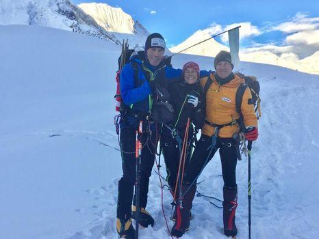 Confortola e Urubko, notizie dal Gasherbrum II