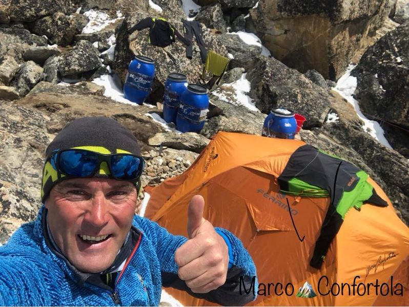 Marco Confortola, verso il Gasherbrum I