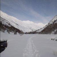 Bell'itinerario e reportage! Tanta neve come non se ne vedeva da anni, bravo!