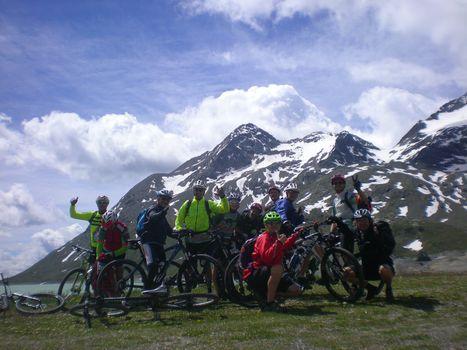 Dal passo del Bernina a Lecco in sella alla bici